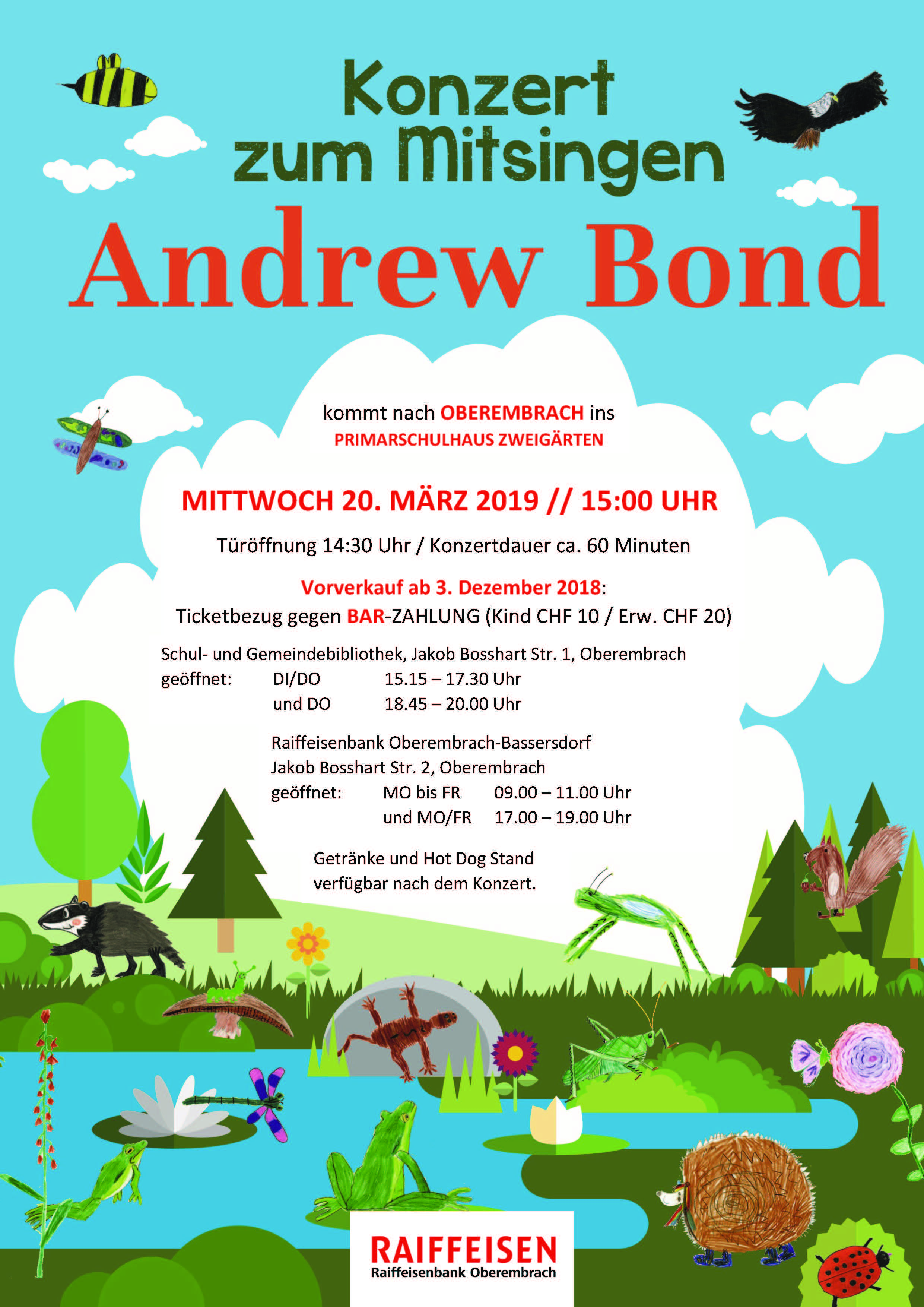 Andrew Bond 2019 Flyer